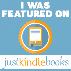 I Was Featured On Just Kindle Books 250x250