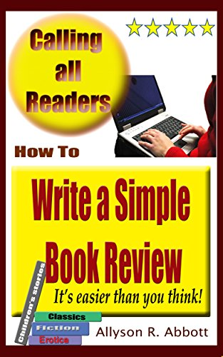 How to begin a book review