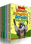 Wally Raccoon's 4-Book Collection