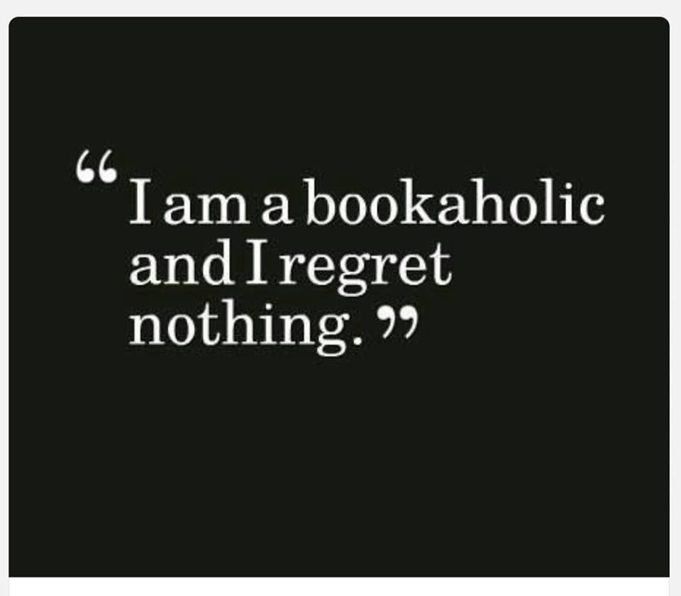 I am a bookaholic.