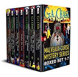 The Malveaux Curse Mysteries Full Series Bundle (Books 1-7)