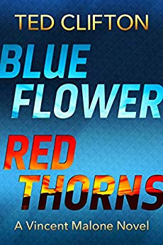 Blue Flower Red Thorns