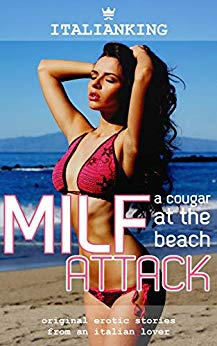 MILF Attack - A Cougar at the Beach
