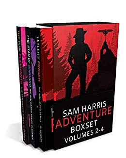 Sam Harris Adventure Box Set; volumes 2,3 and 4