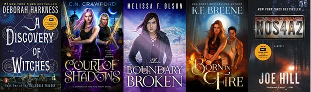 paranormal urban fantasy giveaway