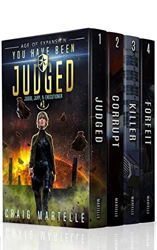 Judge, Jury, & Executioner Boxed Set (Books 1 - 4)