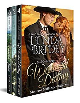 Montana Mail Order Bride Box Set (Westward Series) - Books 4 - 6