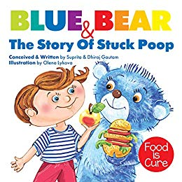 Blue Bear & The Story Of Stuck Poop