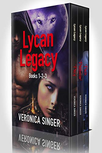 Lycan Legacy Books 1-3