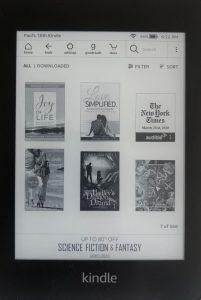 Delete a Kindle book