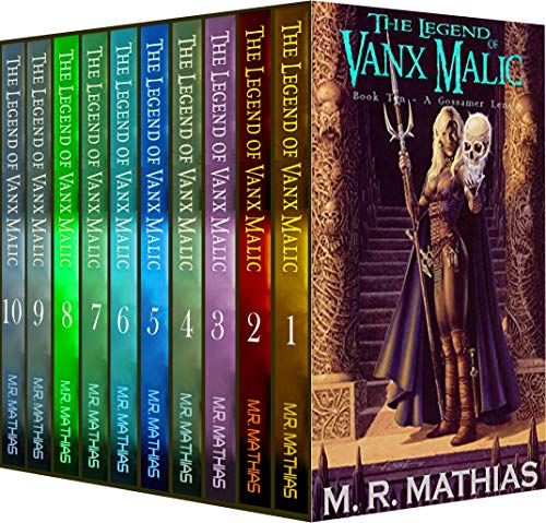 The Legend of Vanx Malic: Complete Collection