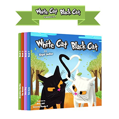 WHITE CAT BLACK CAT
