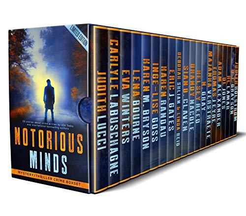 Mystery Bones Murders, 1 of 20 novellas in the Notorious Minds Crime/Thriller Boxset