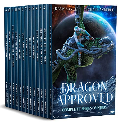 Dragon Approved Complete Series Boxed Set (Books 1 - 13)