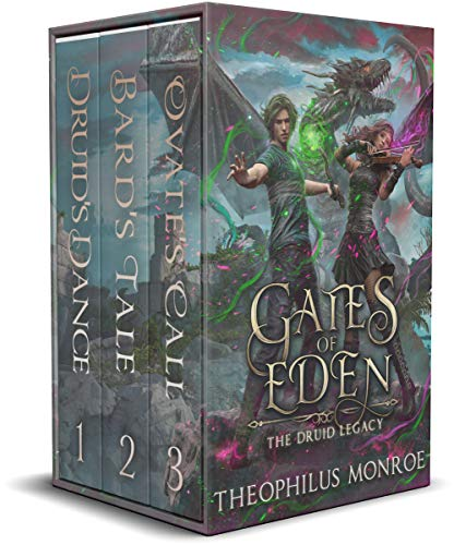 Gates of Eden: The Druid Legacy Boxed Set (Books 1-3): An Arthurian Modern Fantasy