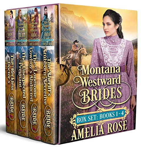 Montana Westward Brides: Books 1-4