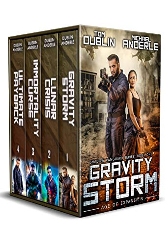 Shadow Vanguard Boxed Set (Books 1-4)