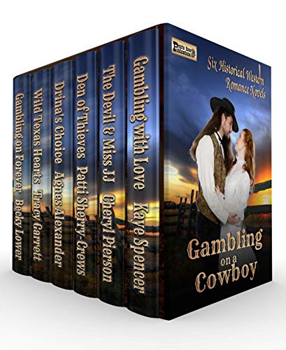 Gambling on a Cowboy - six-novel western romance boxed set