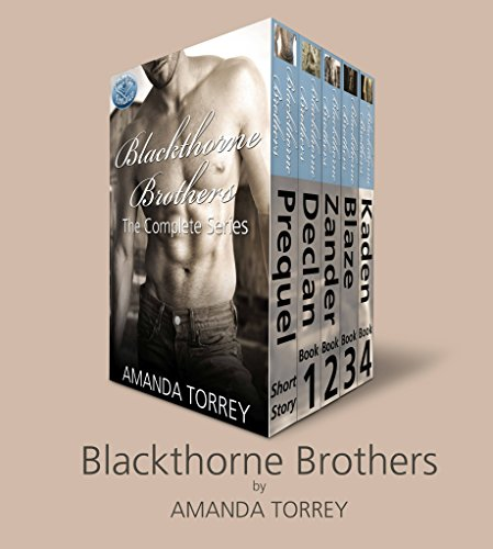Blackthorne Brothers: The Complete Collection (Books 1-4, plus bonus prequel)