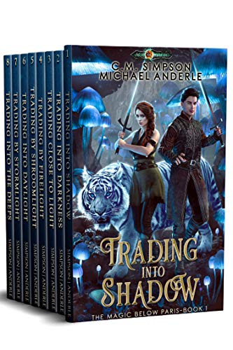 Magic Below Paris Complete Series Boxed Set (Books 1 - 8)