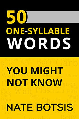50 One Syllable Words You Might Not Know