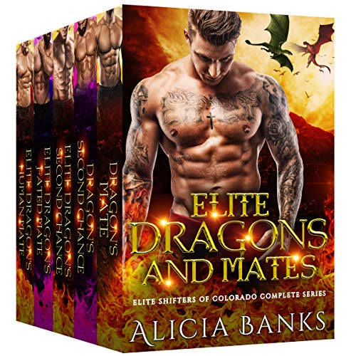 Elite Dragons and Mates: Elite Shifters of Colorado Complete Series Box Set