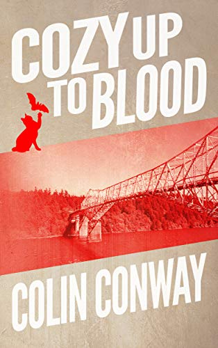 Cozy Up to Blood: a novel about an island, a cat, knitting, and vampires