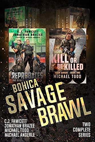 Bohica Savage Brawl: Two Complete Zoo Series