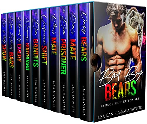 Bad Boy Bears 10 Book Shifter Box Set
